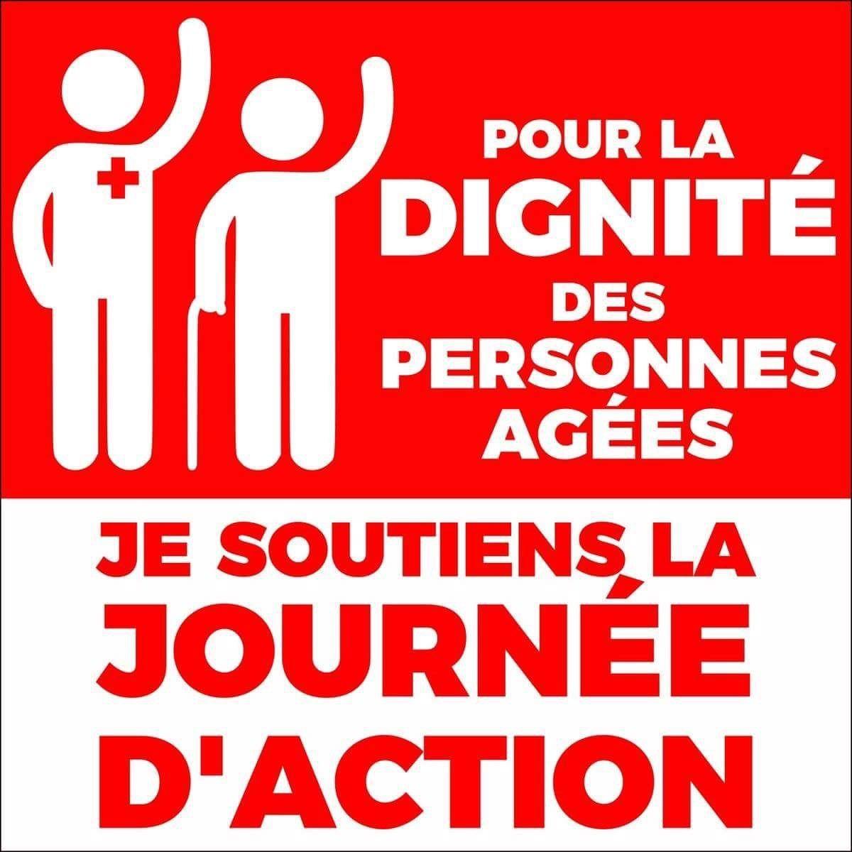Dernière ligne droite pour la journée nationale d'actions dans les EHPAD du 30 janvier en dessins, photos! On y va!