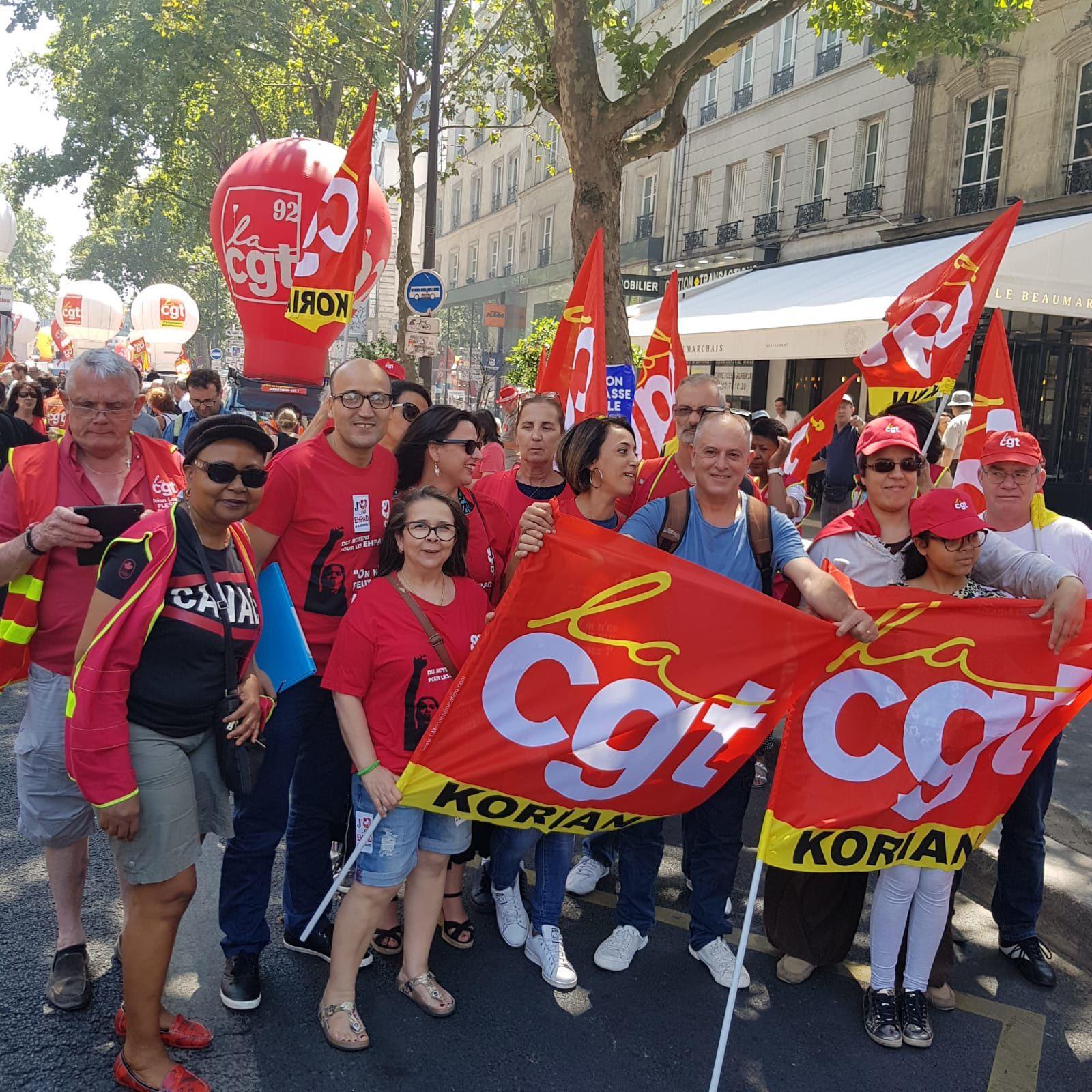 Korian: Accord NAO 2018, la CGT ne sera pas signataire.