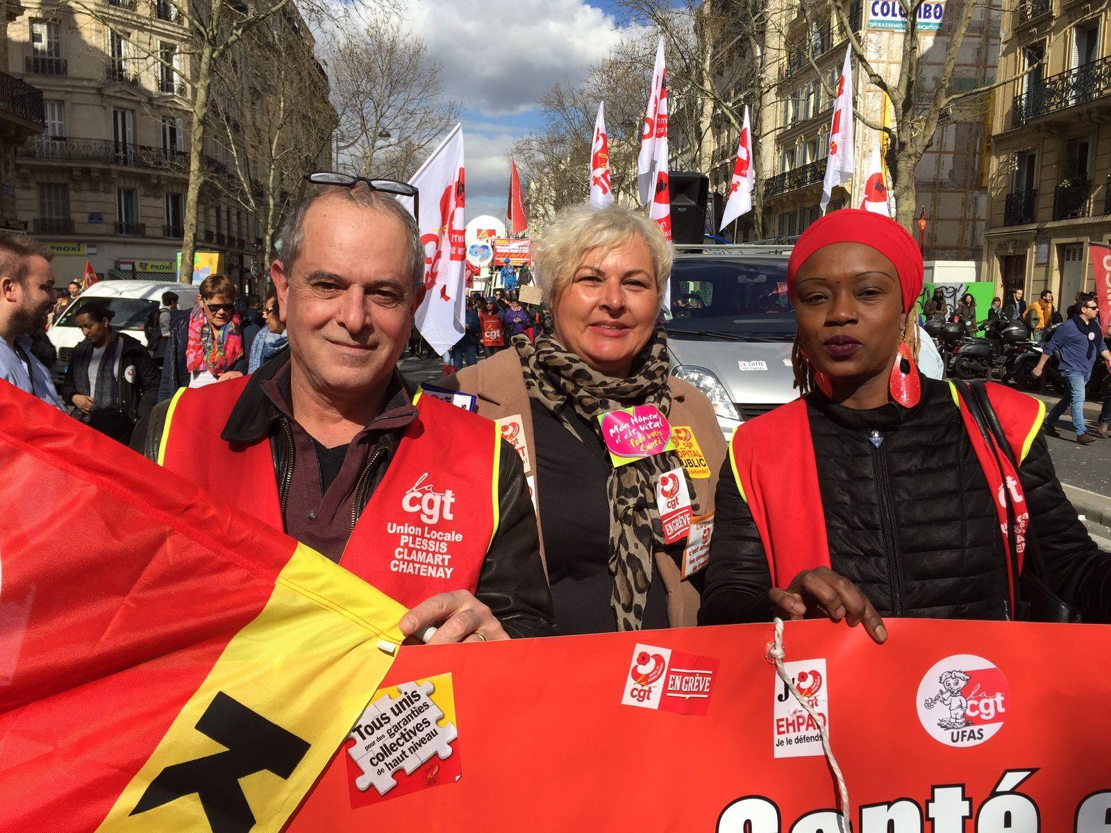 Paris, Marseille, Aix, Montpellier, Avignon, la CGT Korian en action: c'est dans la rue que ça se passe!