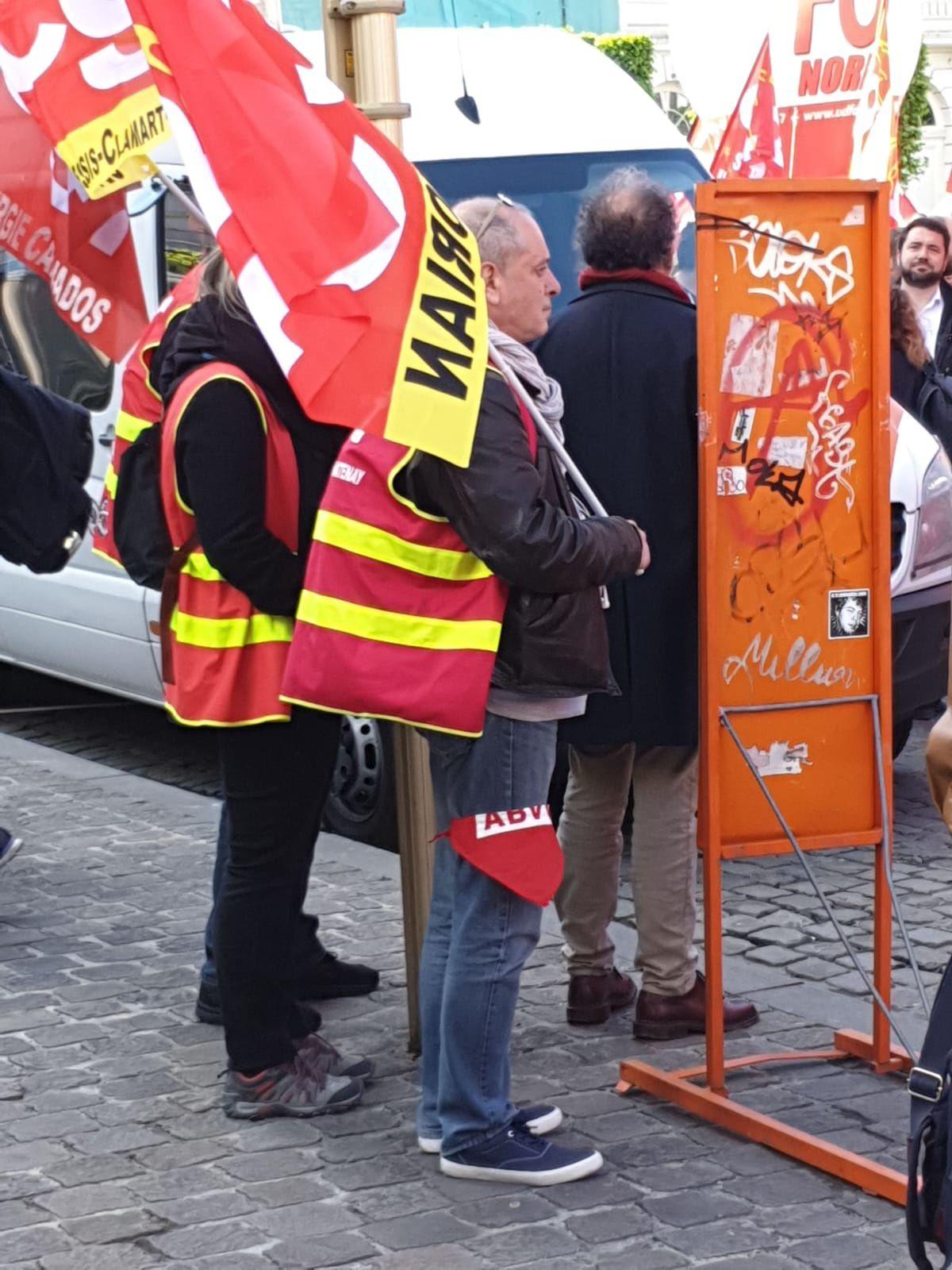Souvenirs du 26 avril à  Bruxelles . CGT Korian.