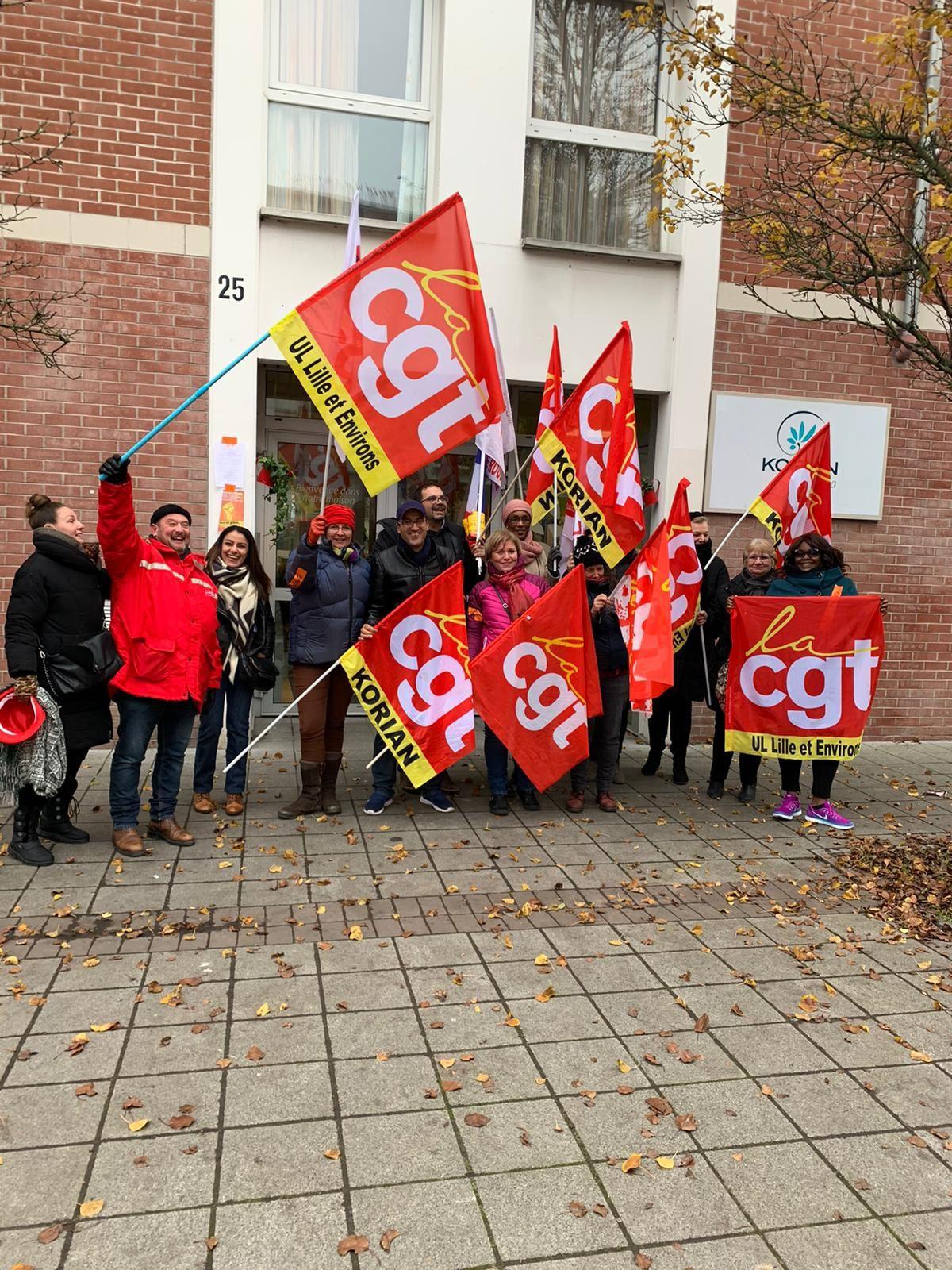 La CGT Korian dans la lutte contre la réforme des retraites! Et ils étaient ou les autres syndicats de Korian qui prétendent défendre les salarié.es? Ah! ce n'est que pour les élections...hahahahahaha!!!