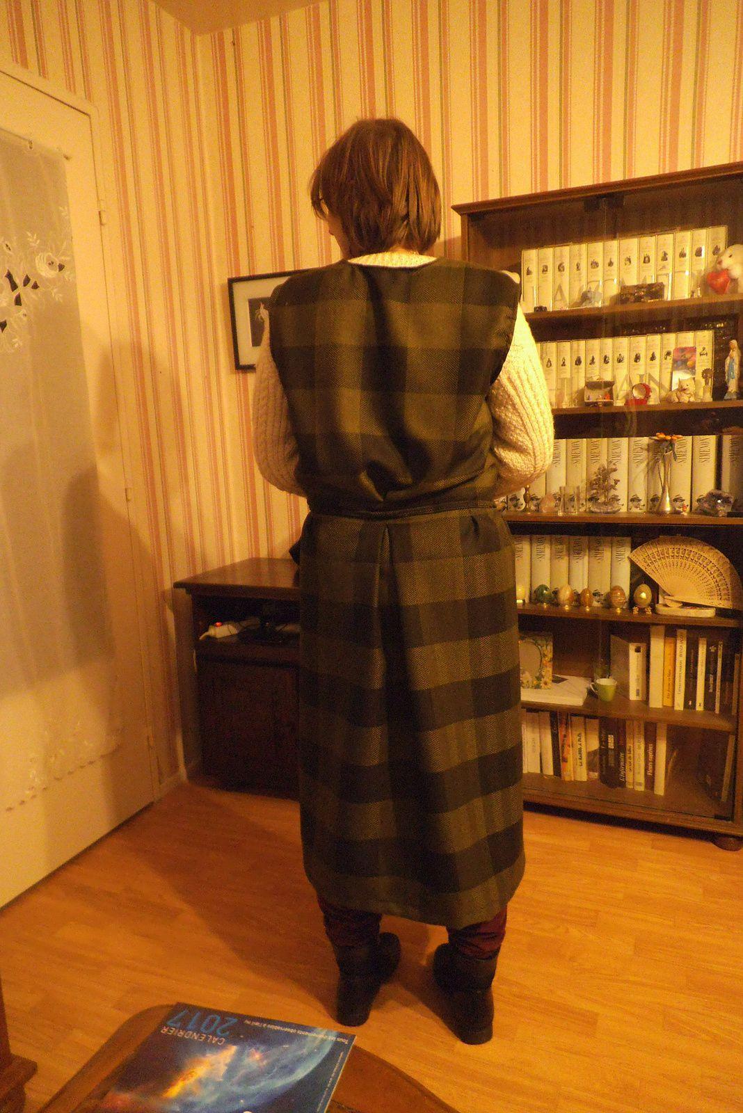 début de mon manteau Sherlock