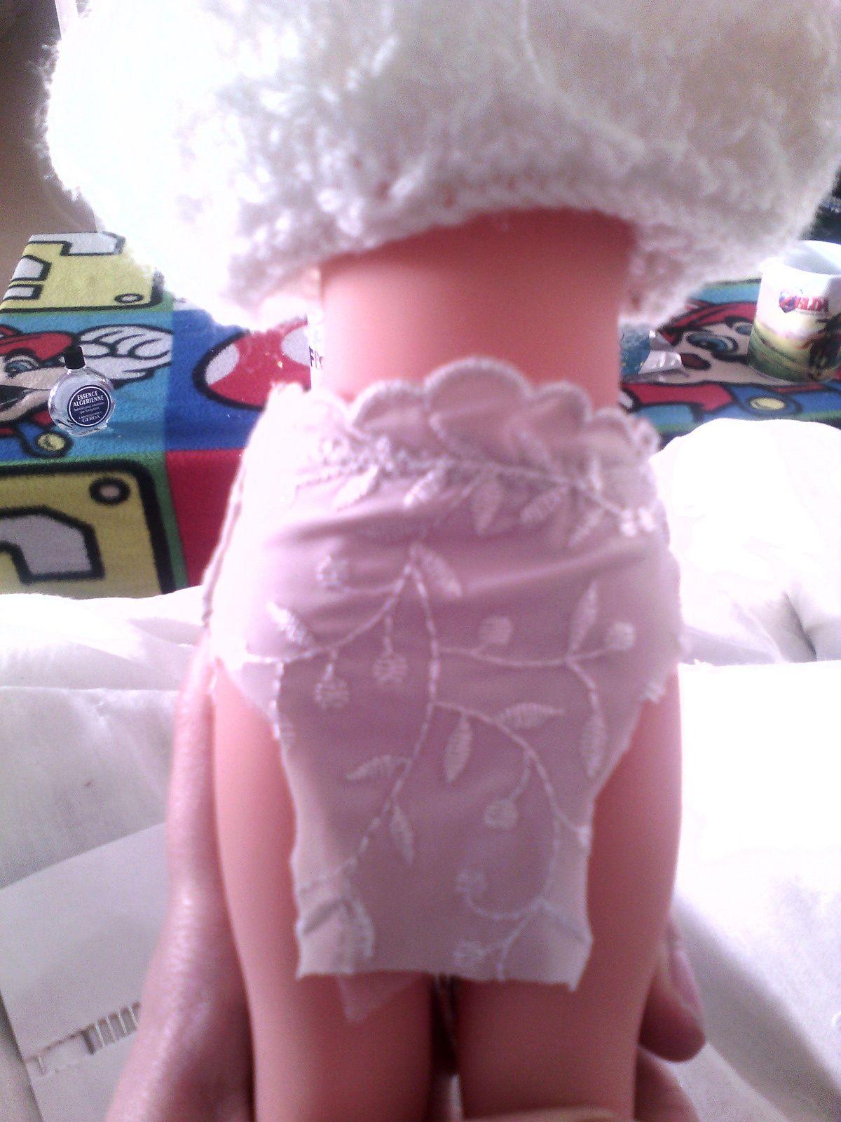 Tuto gratuit : petite culotte pour poupée