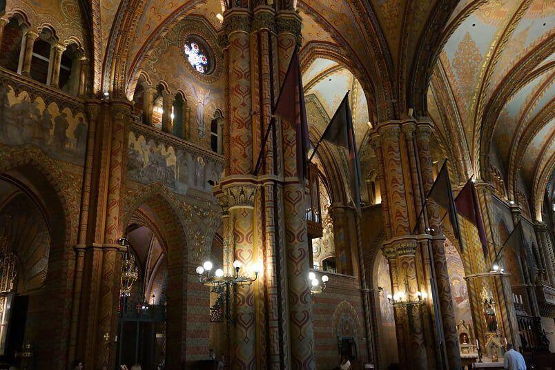 Imali à Budapest ; église Saint Mathias