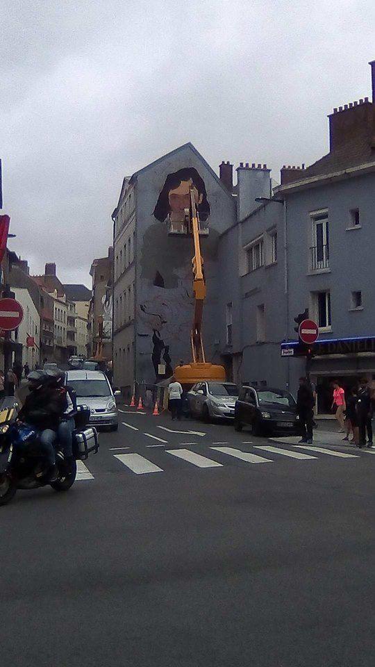 street art à Boulogne /mer