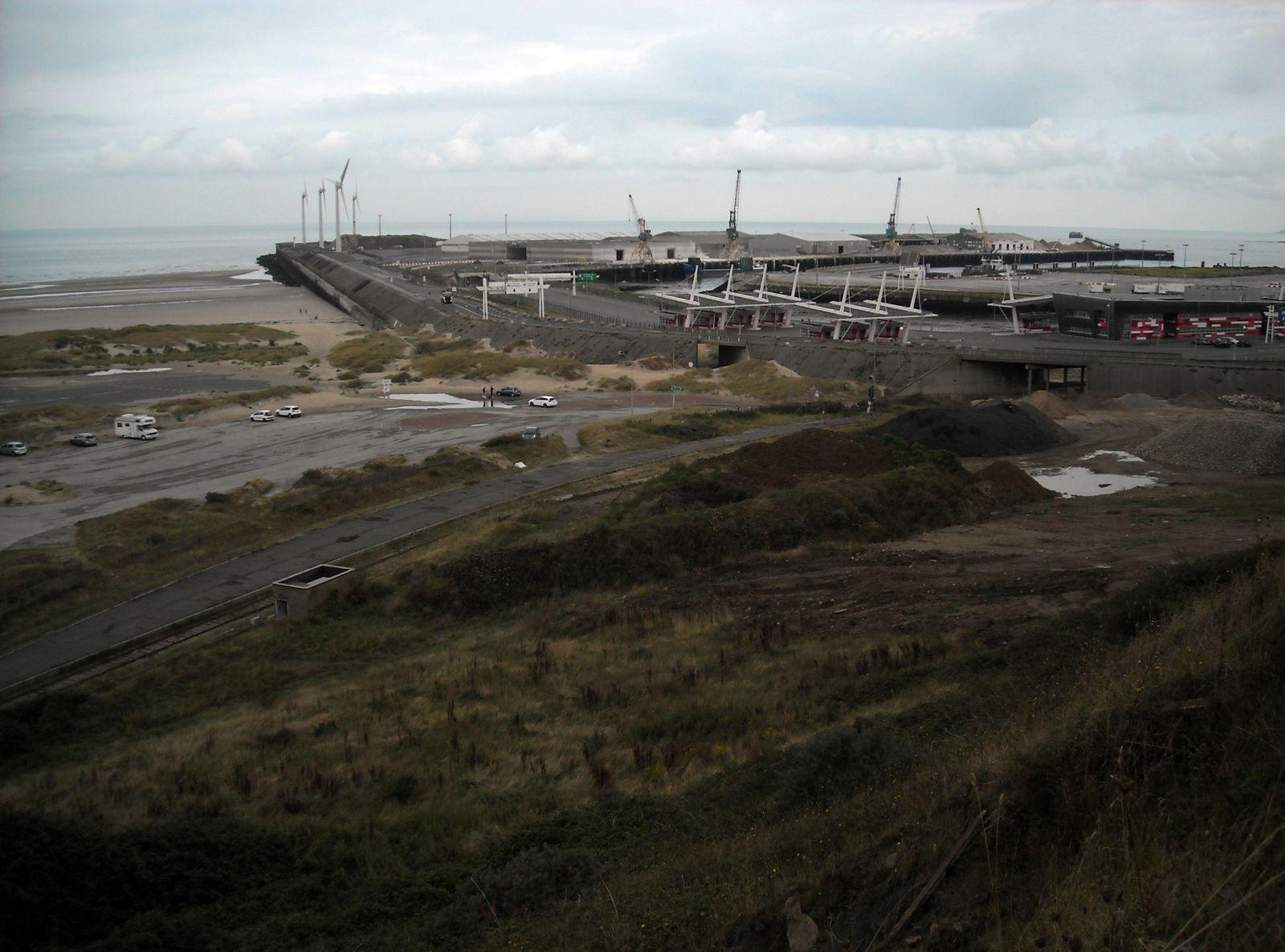 parc de la falaise du Portel ; réaménagement du port de Boulogne