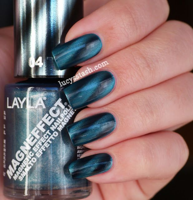 Lucy's Stash - Layla Magneffect 04 Turquoise Wave