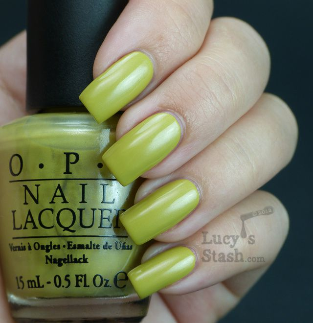 Lucy's Stash - OPI Don't Talk Bach To Me
