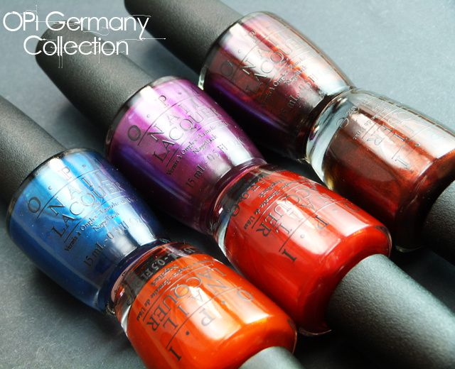 Lucy's Stash: OPI Germany Collection for Fall/Winter 2012 - Shimmers