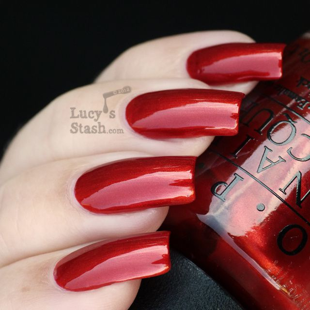 Lucy's Stash - Die Another Day from OPI Skyfall Collection