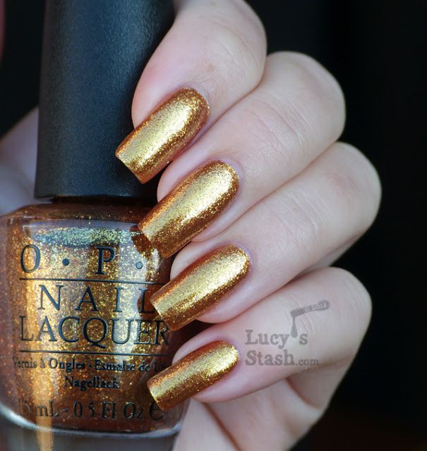 Lucy's Stash - Goldeneye from OPI Skyfall Collection