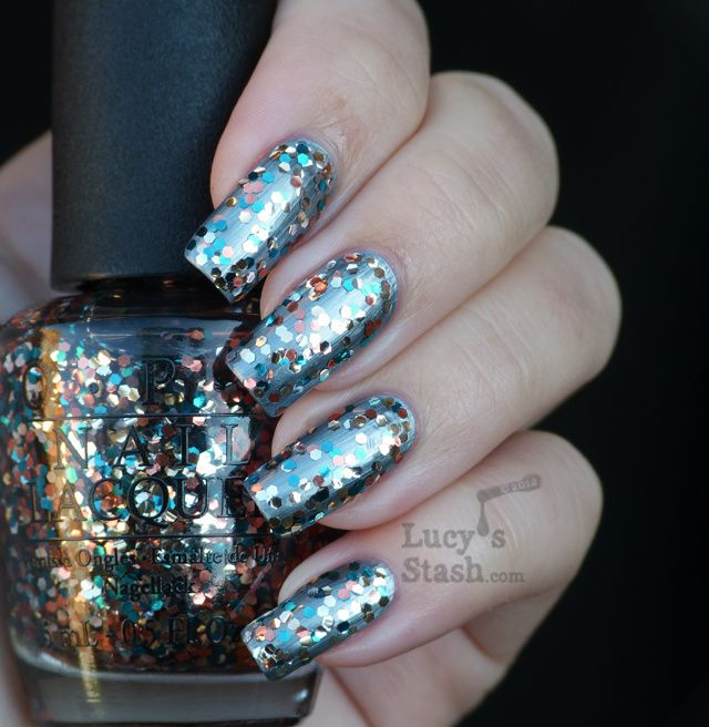 Lucy's Stash - The Living Daylights OPI Skyfall Collection