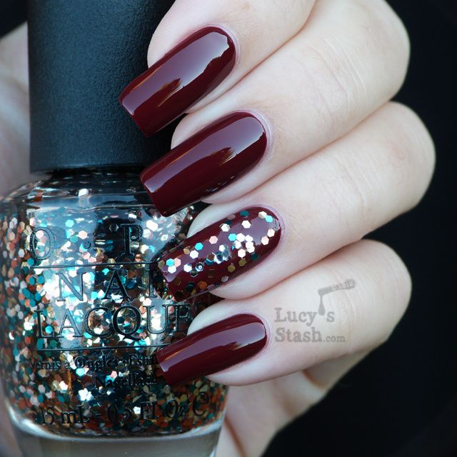 Lucy's Stash - The Living Daylights over Skyfall OPI Skyfall Collection