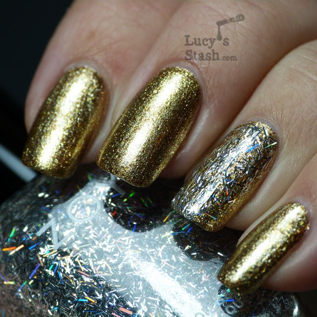 Lucy's Stash - Zoya Electra over Ziv from Ornate collection