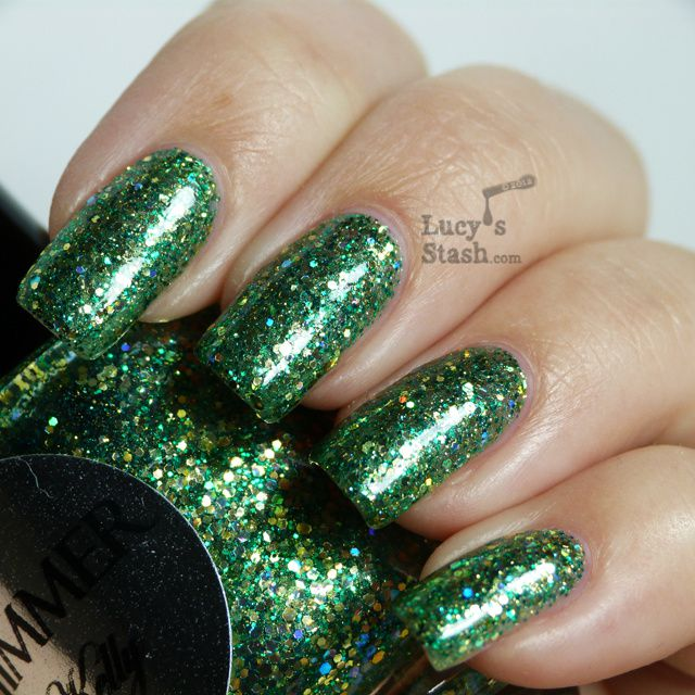 Lucy's Stash - Shimmer Polish Kelly