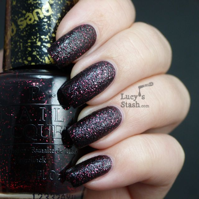Lucy's Stash - OPI Liquid Sand Stay The Night