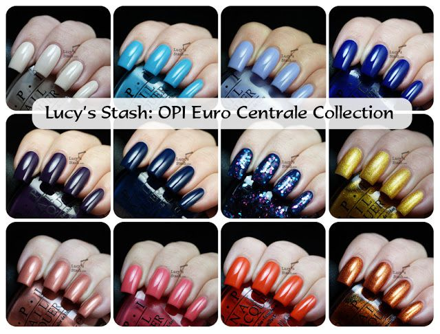 Lucy's Stash - OPI Euro Centrale Collection