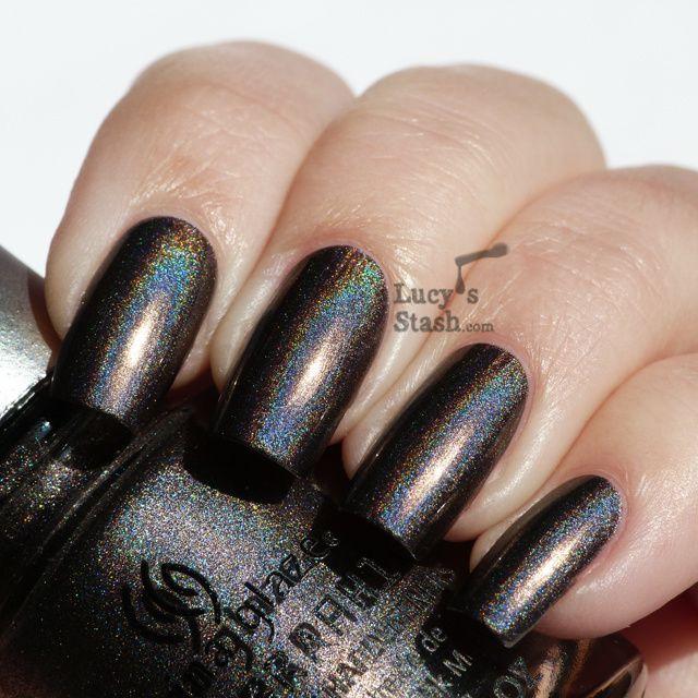 Lucy's Stash - China Glaze Galactic Gray