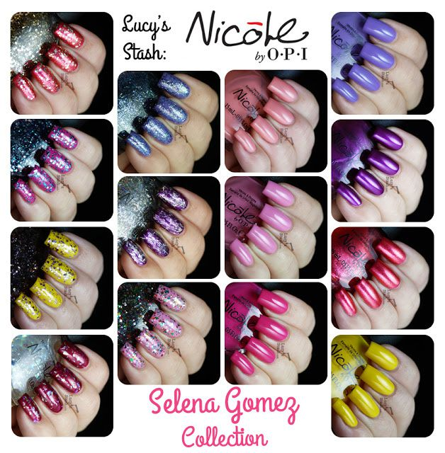 Lucy's stash - Nicole By OPI Selena Gomez collection