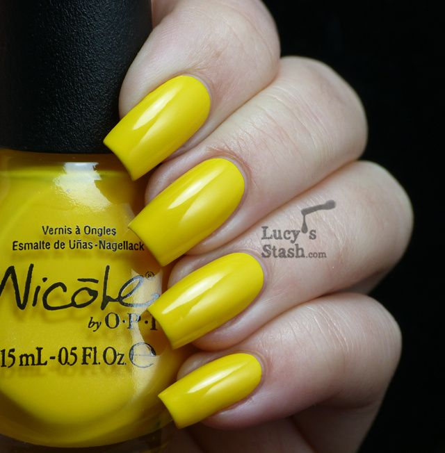 Lucy's Stash - Nicole By OPI Hit The Lights