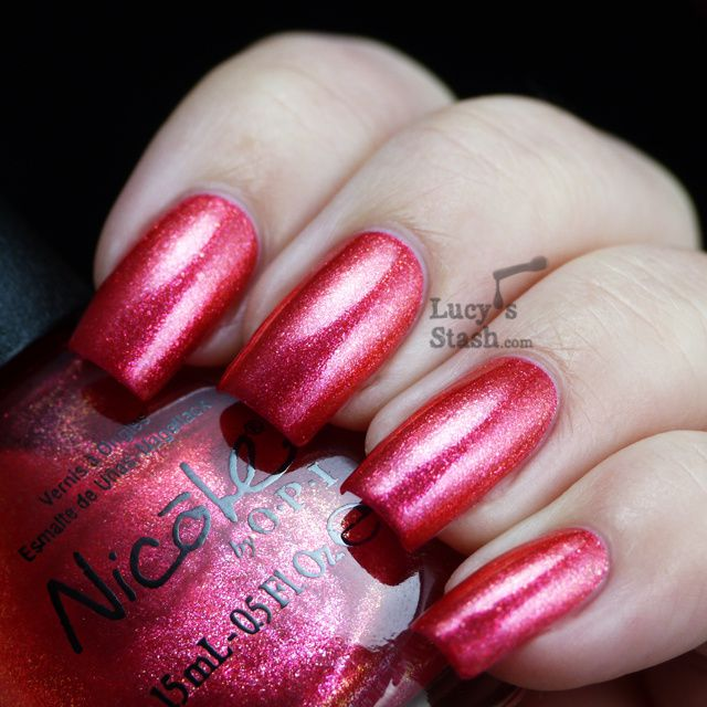 Lucy's Stash - Nicole By OPI Scarlett