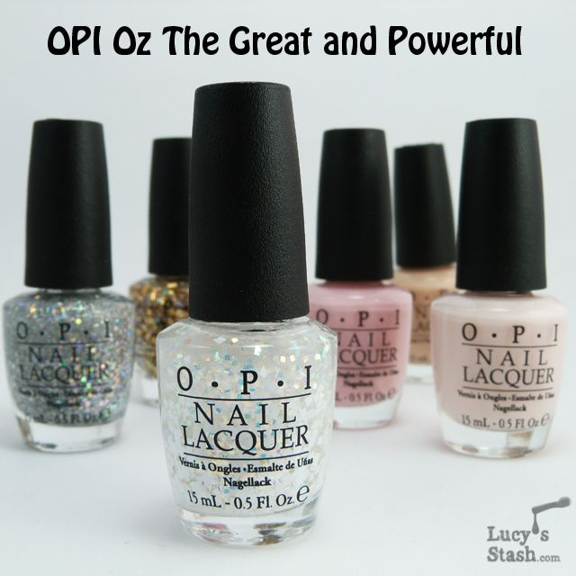 Lucy's Stash - OPI Oz The Great and Powerful collection