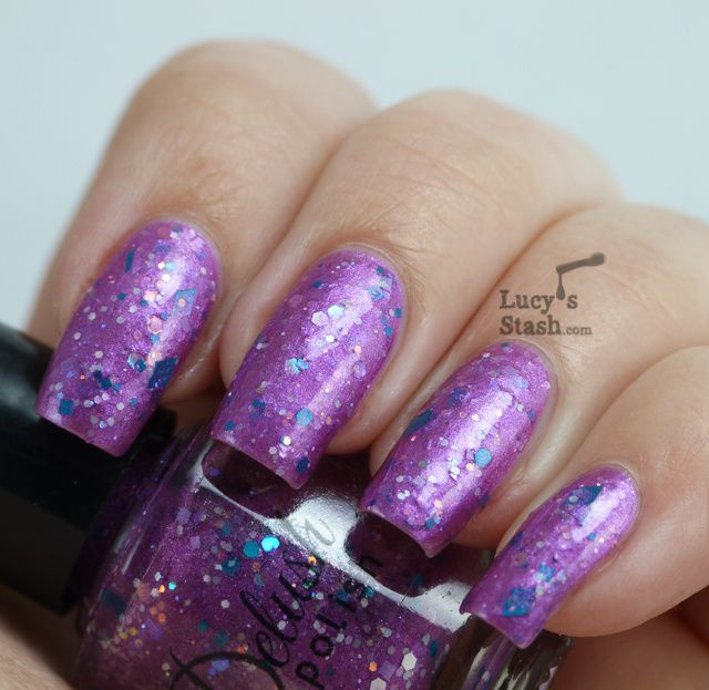 Lucy's Stash - Delush Polish Luscious Plum