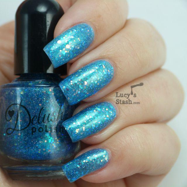 Lucy's Stash - Delush Polish Ocean Sapphire