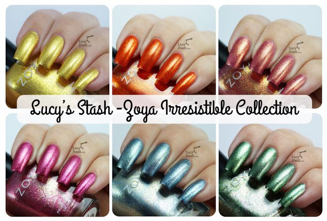 Lucy's Stash: Zoya Irresistible Collection for Summer 2013 - Review and swatches