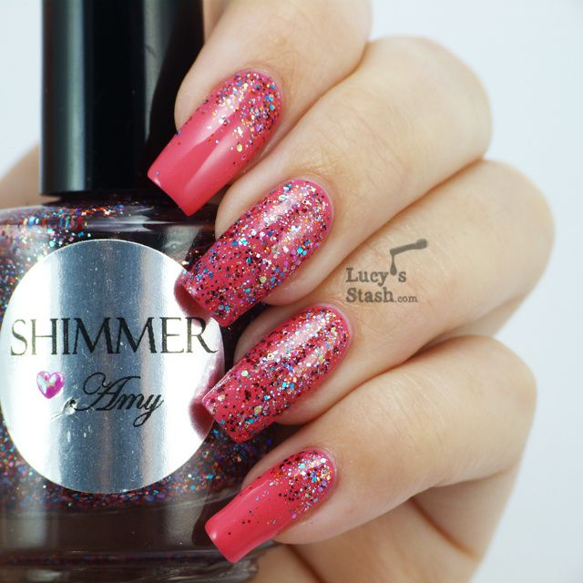 Lucy's Stash - Shimmer Polish Amy