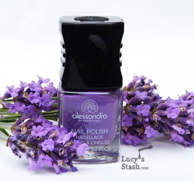 Alessandro Lucky Violet - Review and swatches