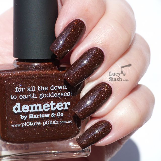 piCture pOlish Monday: Review and swatches of piCture pOlish Demeter