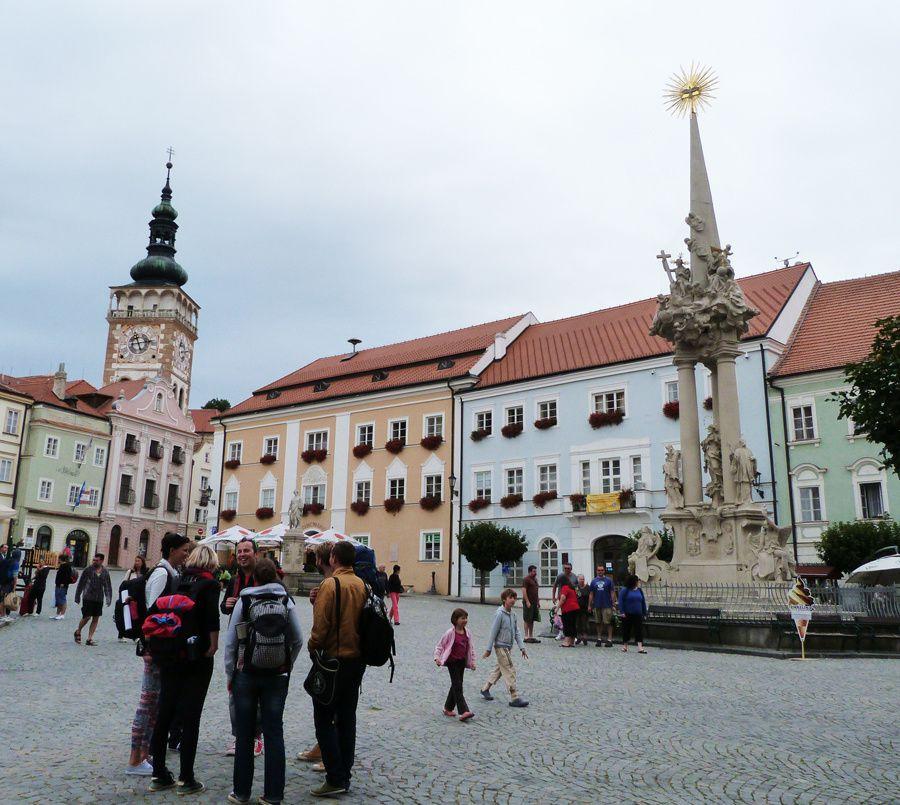 Mikulov town & Mikulov castle