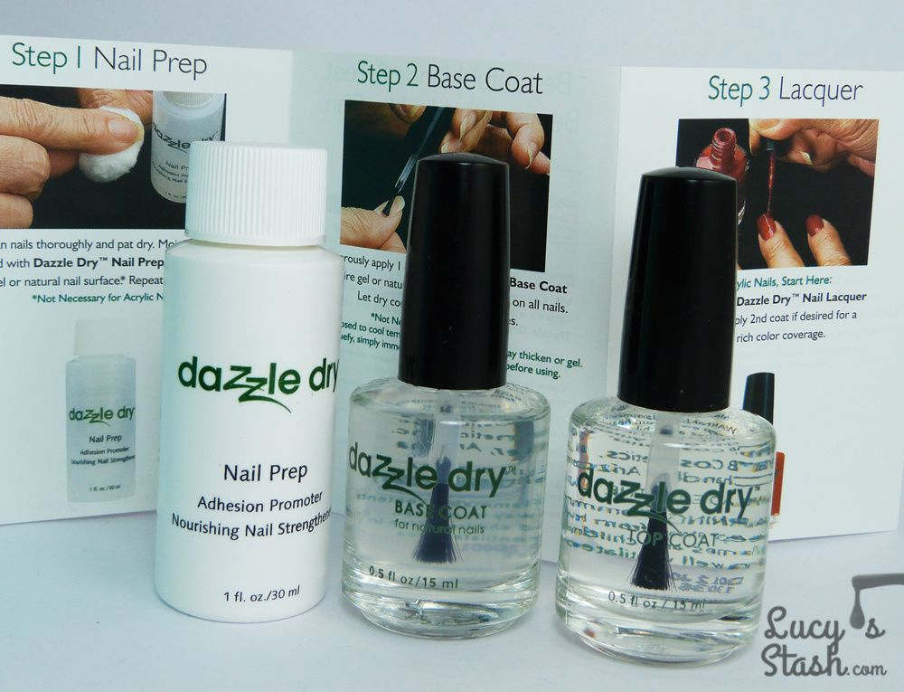 Review: Dazzle Dry Quick-Dry Nail System