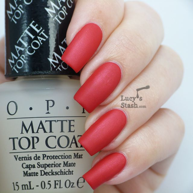opi matte top coat review opi matte top coat s stash 30593