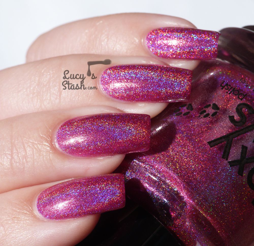 Foxy Paws Holo, Dolly! collection - Review and swatches
