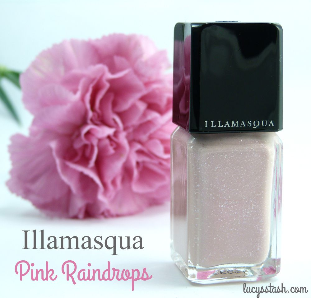 Pink Friday with Illamasqua Pink Raindrops - Breast Cancer Awareness month
