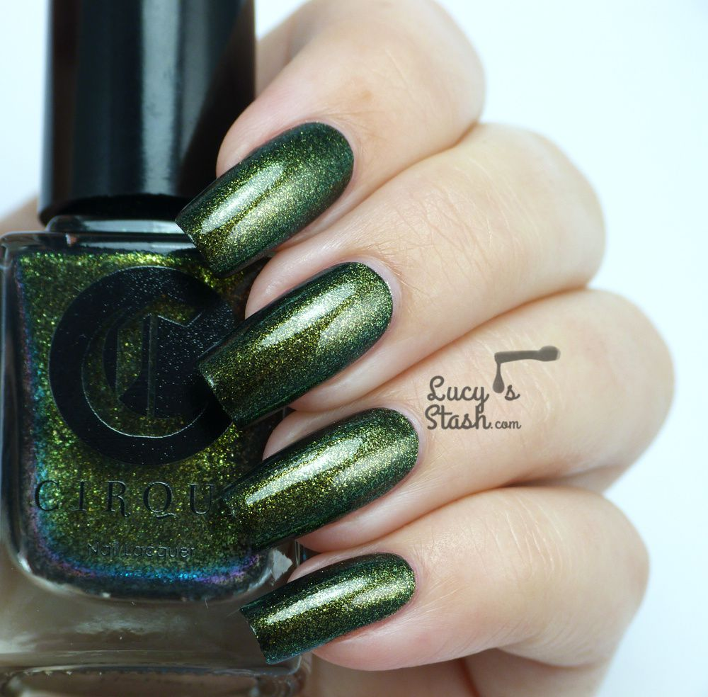 Cirque Alchemy Collection - Review and swatches of five shades