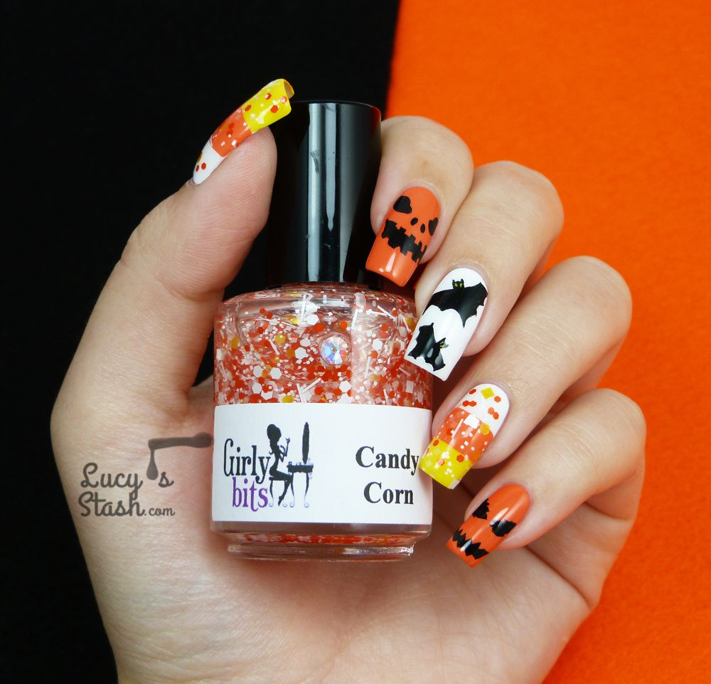 Halloween Mix & Match Nail Art!