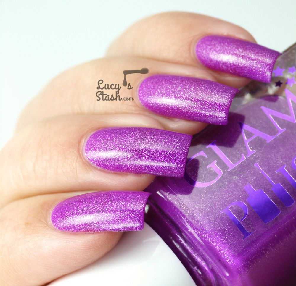 More Neon Fun with Glam Polish Vidia and Rosetta - Review & Swatches
