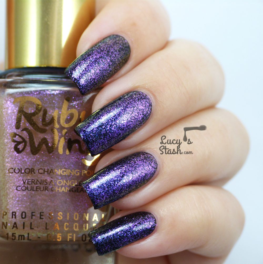Ruby Wing Electric Firefly and Doux - Review & Swatches