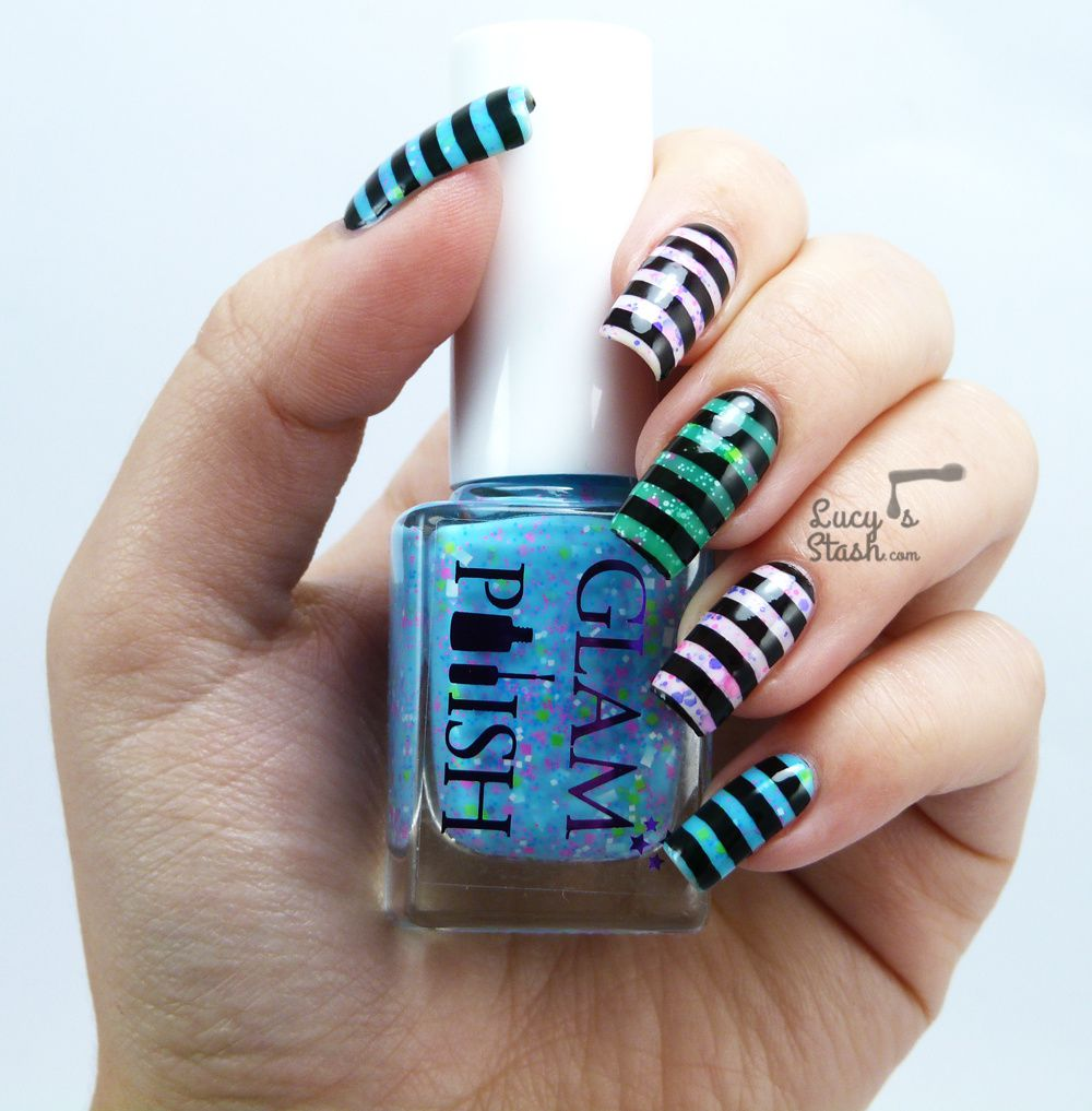 Stripes? Stamping? Neon Glitter? UV Glowing?....All of it!