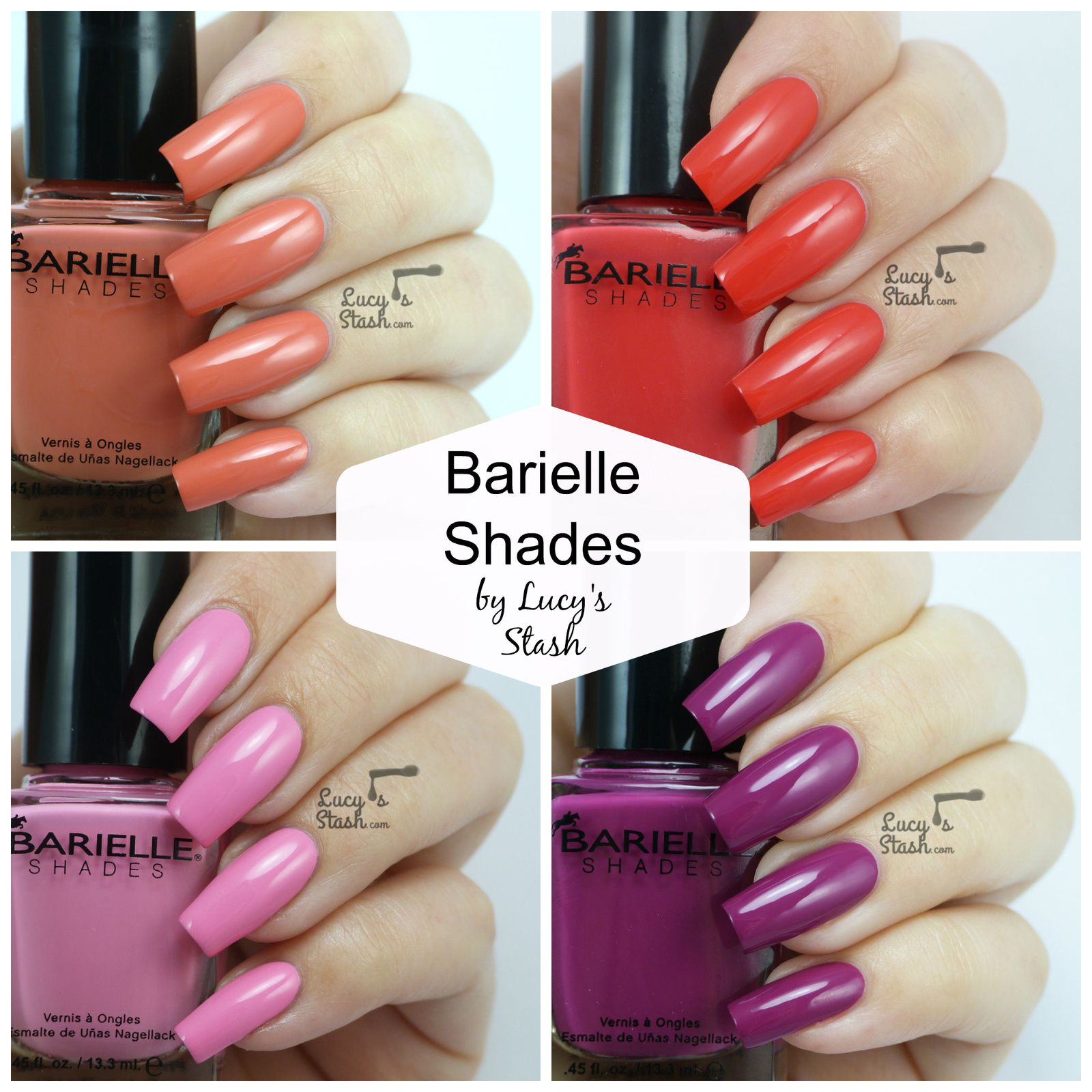 Barielle Swatch Spam!
