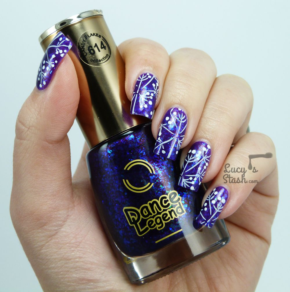 Stamping Nail Art feat. Dance Legend and MoYou London