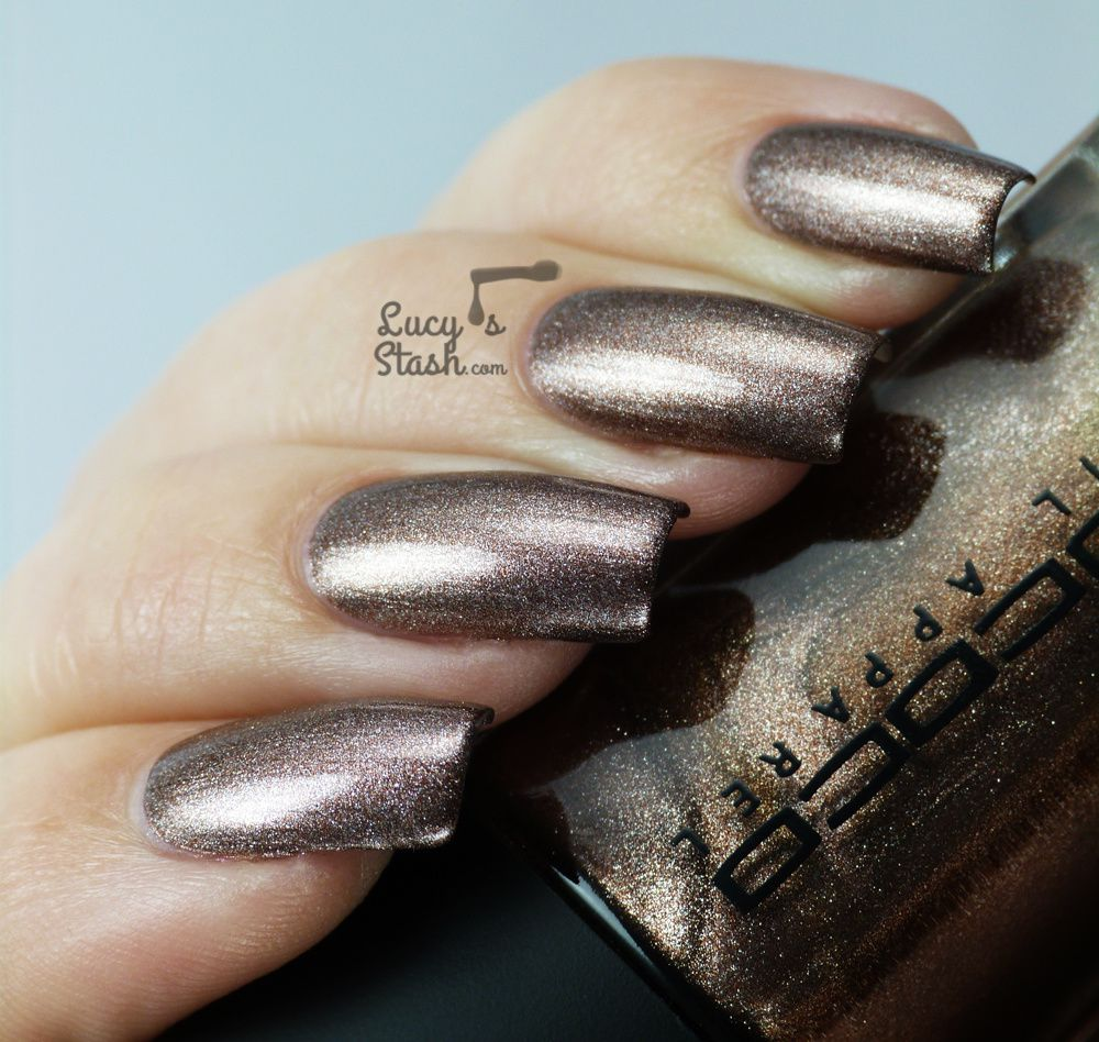 Rococo Nail Apparel Metal Jacket and Lab Nude 8.8 - Review & Swatches