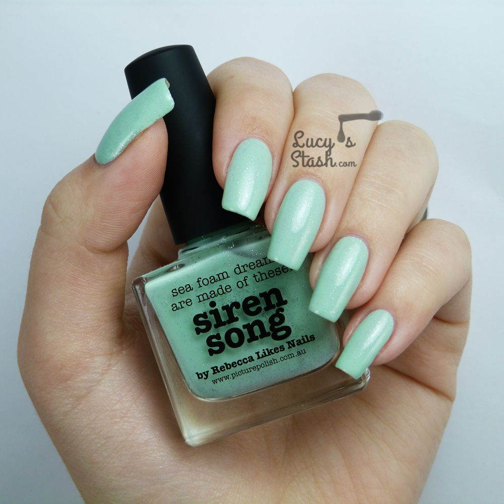 piCture pOlish Monday: Siren Song by Rebecca Likes Nails