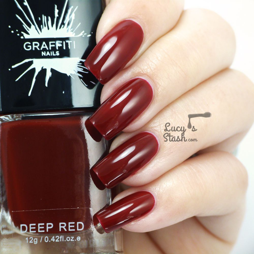 New brand on the block - Graffiti Nails! Review & swatches