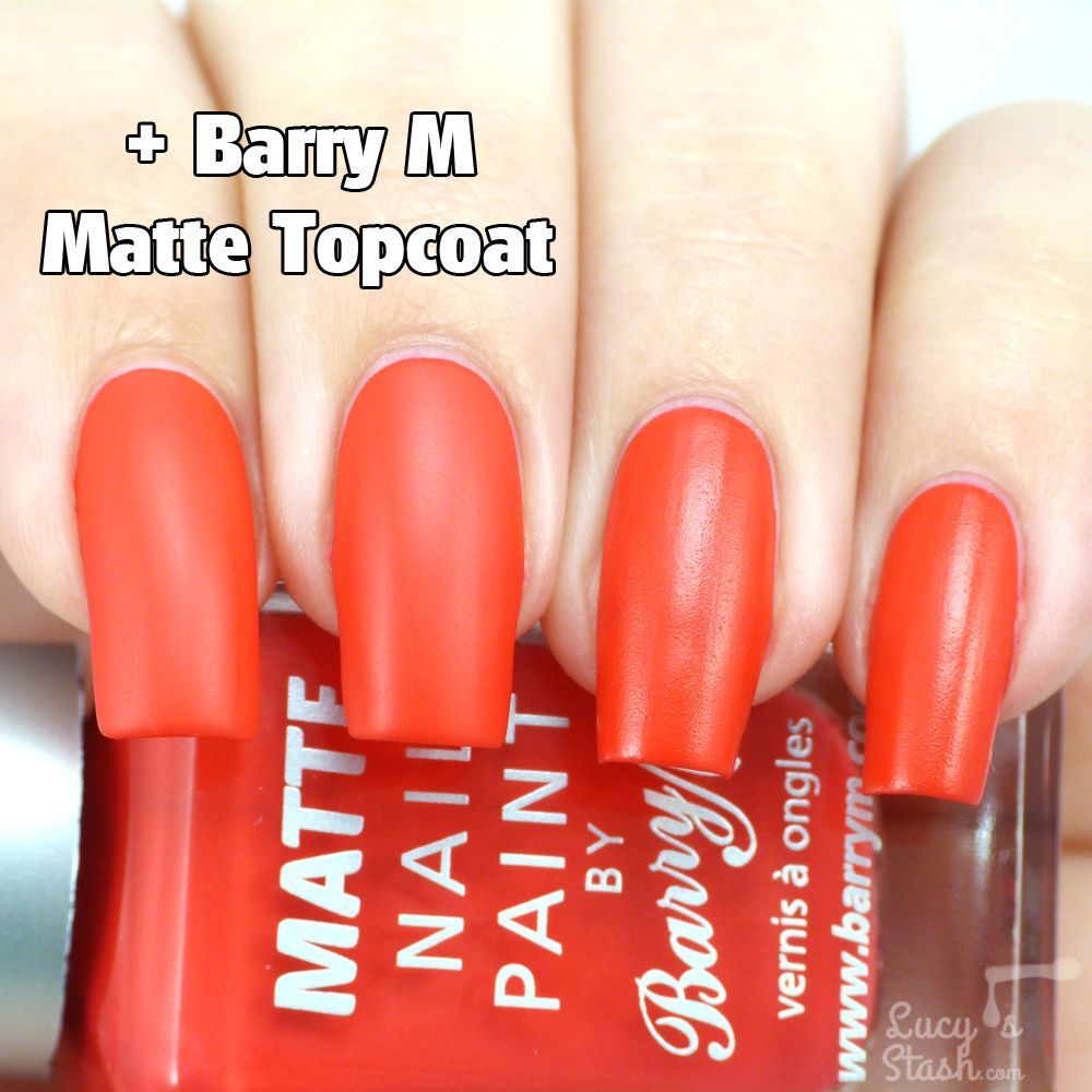 Barry M Summer Matte Collection & Matte Topcoat - Review & Swatches