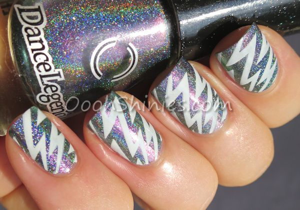 Oooh, Shinies! for Lucy's Stash - Holo & Stamping | Guest post