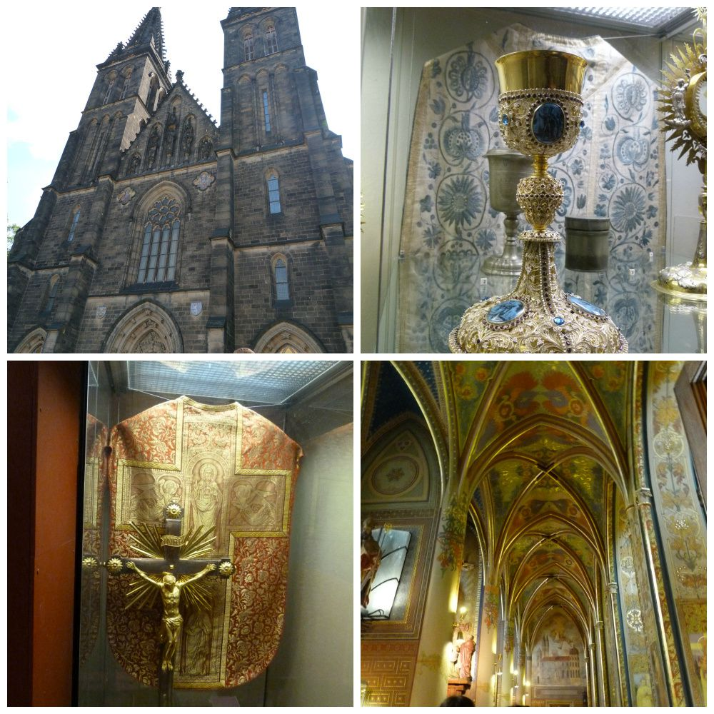 Vyšehrad - historical fort with church, park & beautiful views. Built approx. in 10th century